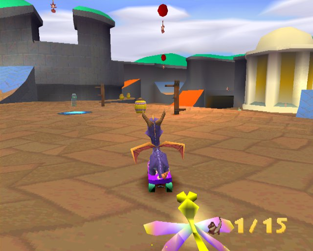 Screenshot thumbnail media file 2 for spyro the dragon 3 year of